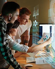 Les métiers du secteur digital